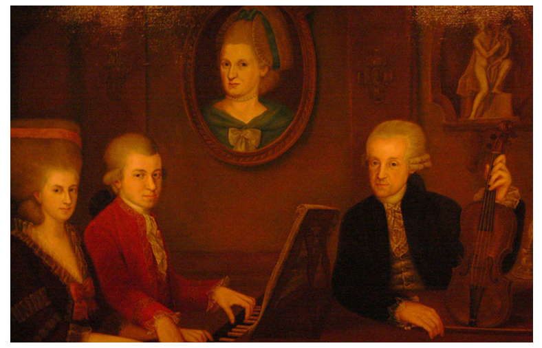 Mozart et ses parents